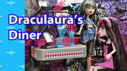 Draculaura's Diner Monster High Playset