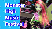 Music Festival Monster High Dolls