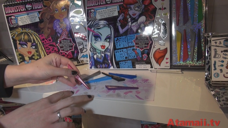 Monster High Crafts Toy Fair Preview