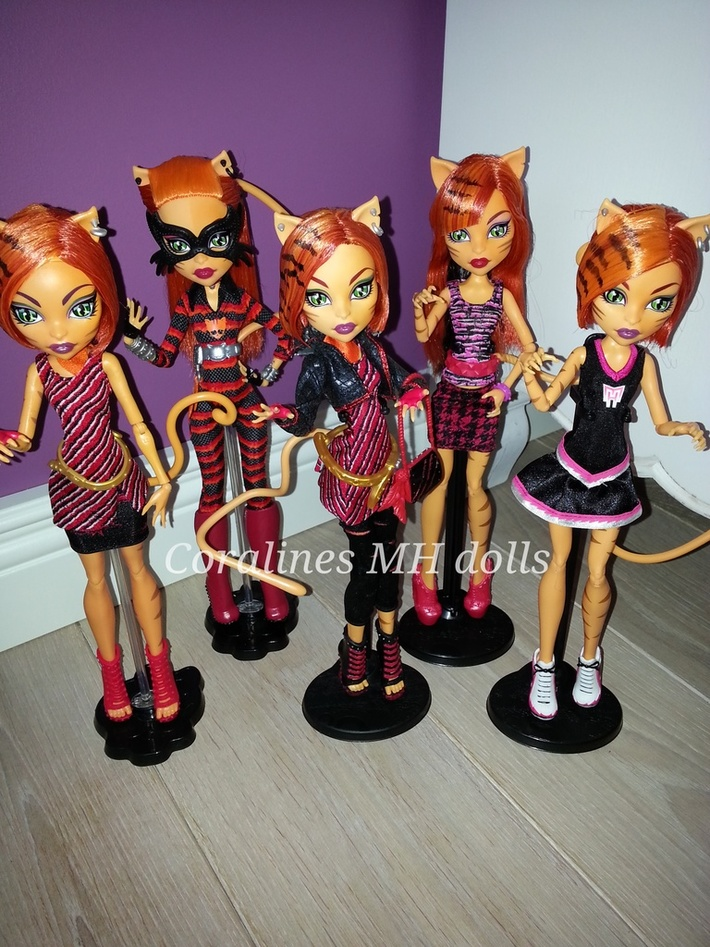 All my Toralei dolls