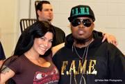 WWE Superstar Shelly Martinez and myself