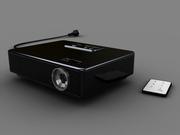 Video projector black
