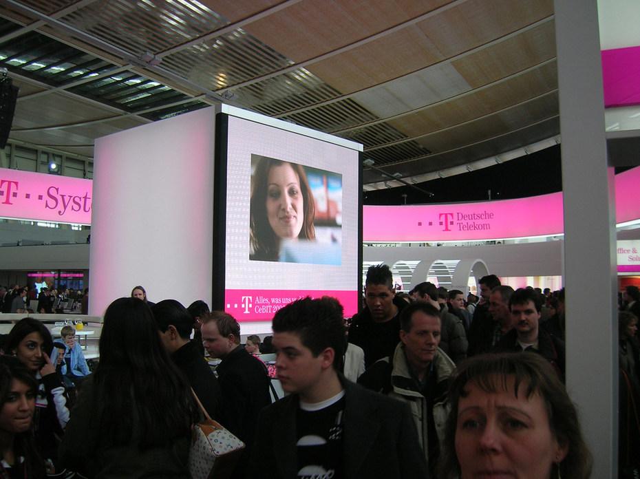 Cebit Telekom