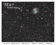 M027 Dumbell Nebula