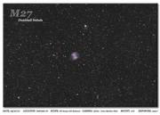 m027 (Dumbbell Nebula)