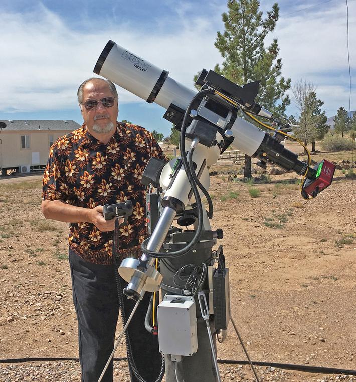 Setup in New Mexico near Arizona Sky Village