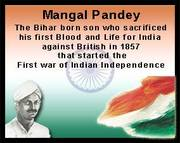Mangal Pandey - Freedom Fighter
