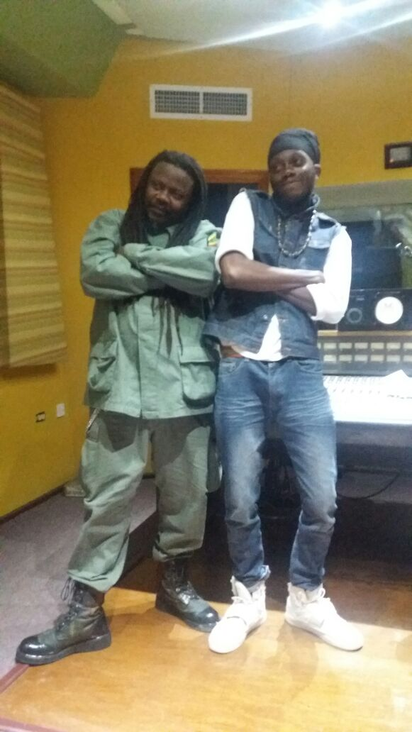 Reggae Powerhouse Band lead singerl and Luciano