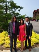 BrianRitchieFamily at Laura&Daves wedding