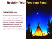 Reclaim Your Freedom