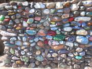 Artwork at Childs Hot Springs