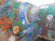 Murals at Childs Hot Springs