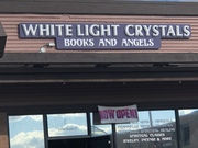 White Light Crystals, Books, and Angels