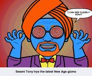 Swami Tony Sees Clearly