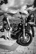 Harley Bikers al Roby tour 2014