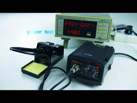AT937 50W CNC Soldering Station Review