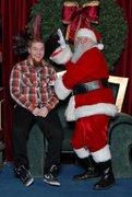 Even santa loves a good mohawk