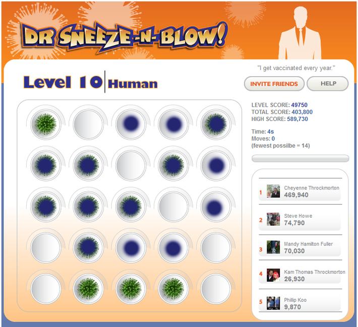 Dr Sneeze -N- Blow :: Human Flu