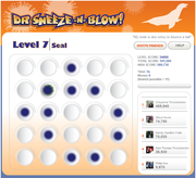 Dr Sneeze -N- Blow :: Seal Flu