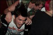 Me Skanking with Matt on my back