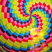 Volando... a colori