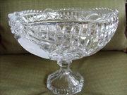 Crystal Rose bowl