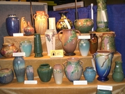 Pottery at the Novi Antiques Market