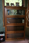 Reproduction Set of lawyer bookcases