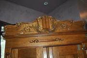 Quarter sawn oak armoire