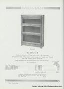 Widman Sectional bookcase detail