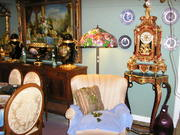 GARAGE FULL OF ANTIQUES AND ART FOR SALE