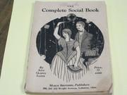 The Complete Social Book - 1930 Ann Lloyd