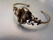 Victorian Grape Leaf Bracelet