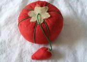 Vintage Pincushion, Tomato Pincushion