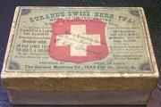 Durands Swiss Herb Tea Box Rare