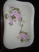 French Limoges Porcelain Dress Tray