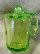 Hocking depression glass 4 cup reamer and pitcher