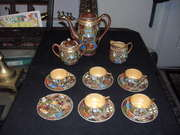 GRANDMAS ANTIQUE MINI ORIENTAL TEA SET