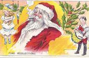 Santa smoking pipe c drummer