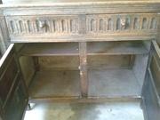 English Antique Court Cabinet