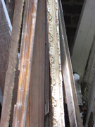 Antique Gold Painted Plaster Molding