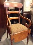 Commode Chair - Circa 1920