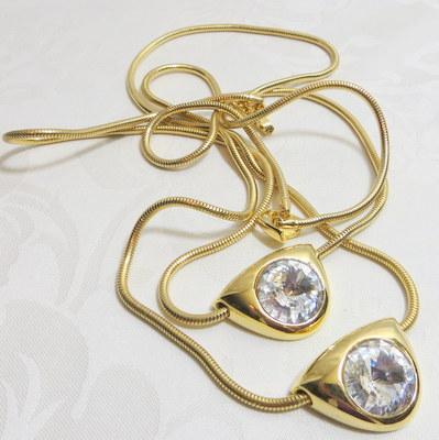 Lanvin luxury jewelry headlight rivoli flapper length necklace