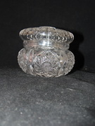 Elegant Cut Glass Candy Dish