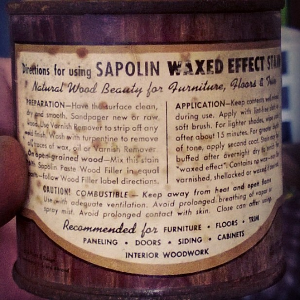 Sapolin Wood Finish Stain 368 1946