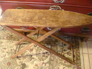Primative Wooden Childrens Ironing Board