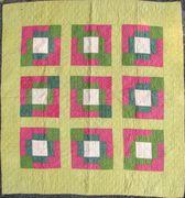 PA crib quilt c. 1900