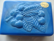 Blue Glass box  Cherry Design