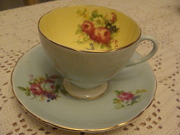Foley Floral tea cup & saucer