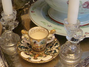 Demi Cup and Saucer made in Italy Nude